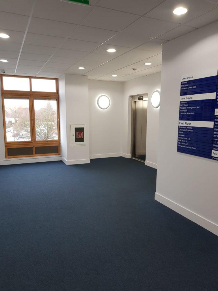 West Dorset District Council commercial decorators