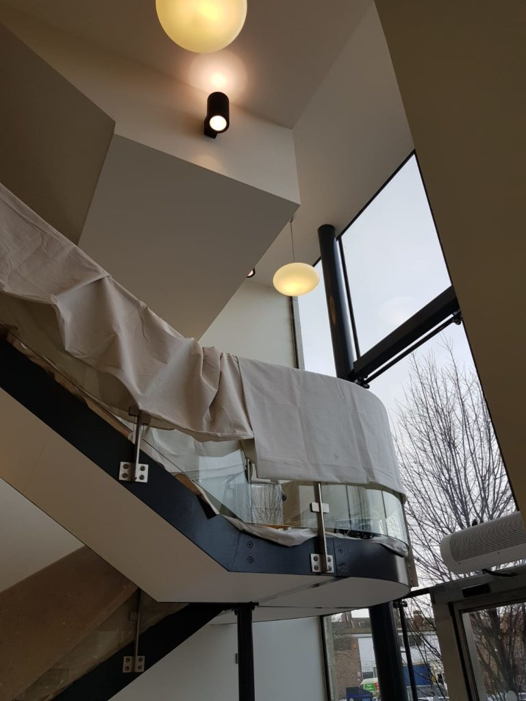 Large commercial painting services