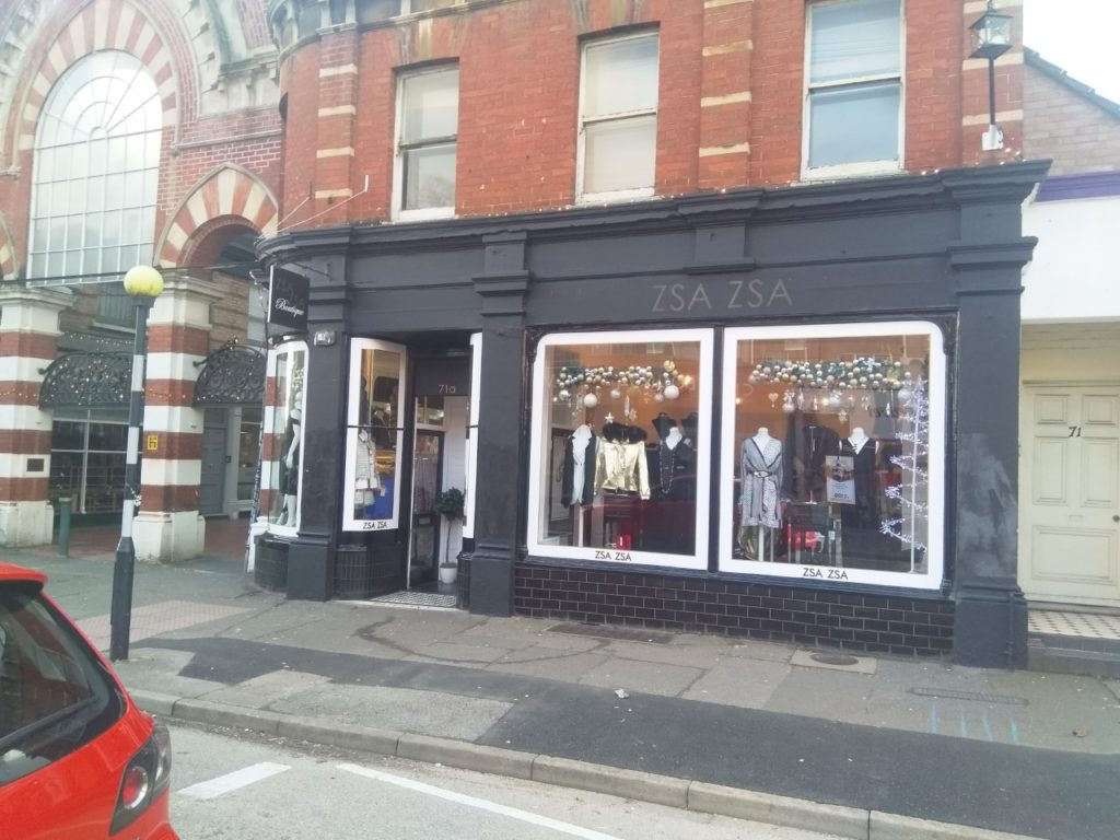 High street commercial decorators