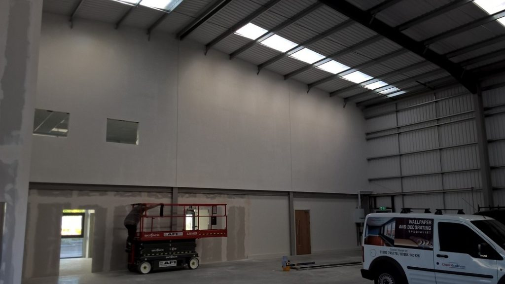 Warehouse commercial painting service
