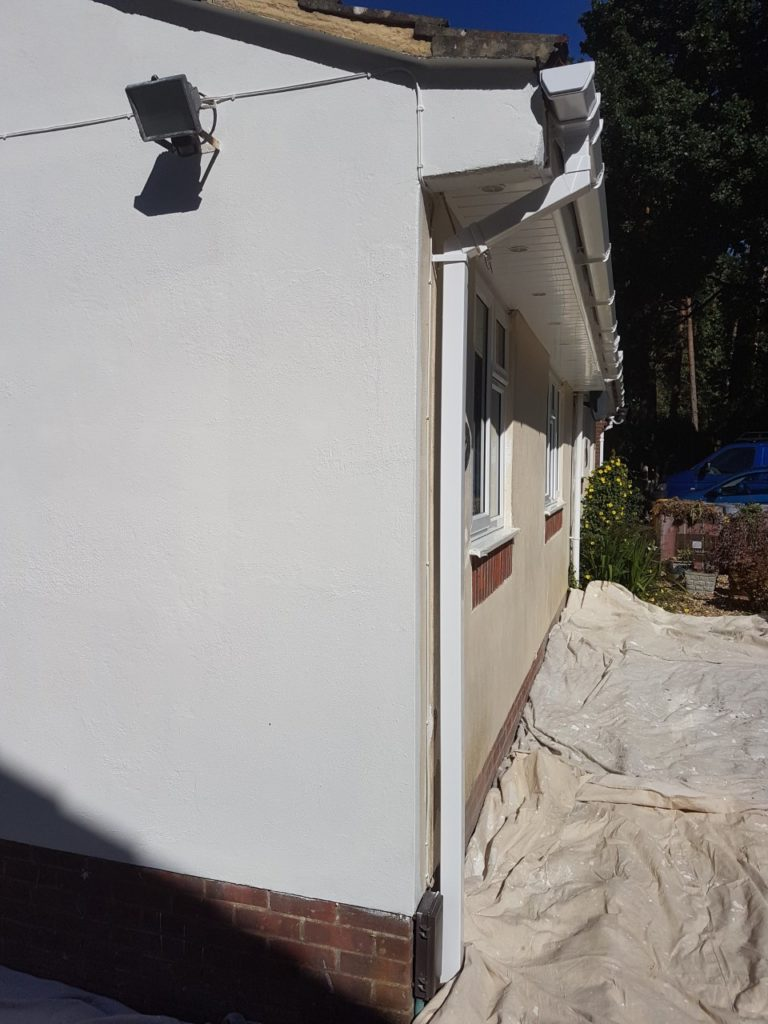 Ground floor external residential painting service